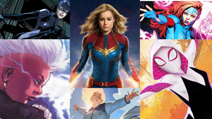 Platform Magazine female superheroes
