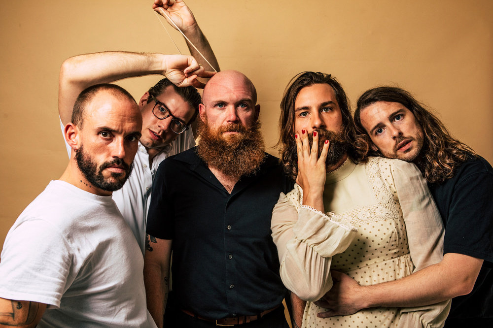Bristol band IDLES, who have announced the release date for their fourth album 'Crawler'